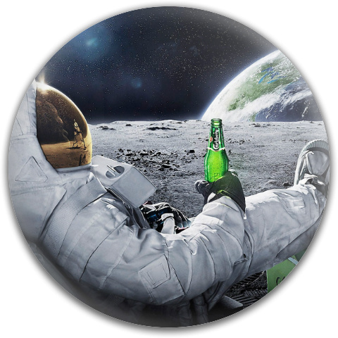 Space Brew - Fly Discs - Disc Golf Disc