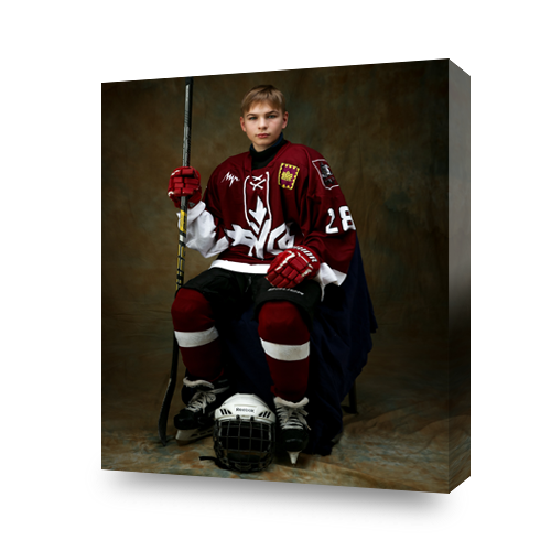 MyStyle Goods Custom Hockey Canvas Portrait